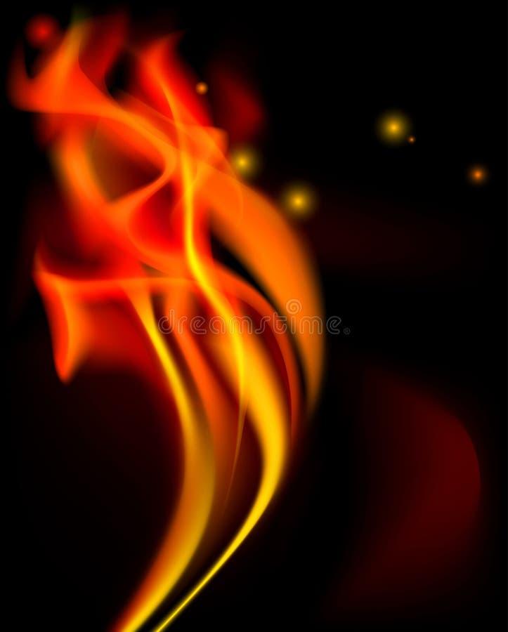 Incendie illustration de vecteur