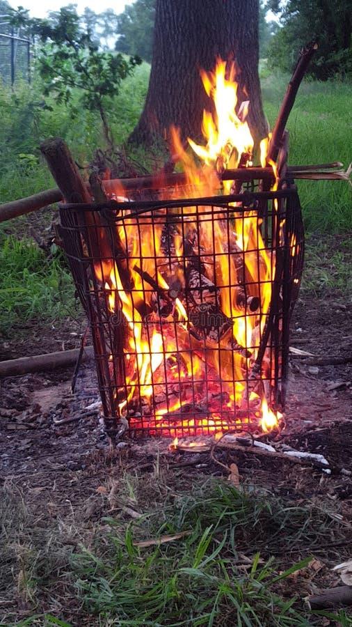 Incendie photographie stock