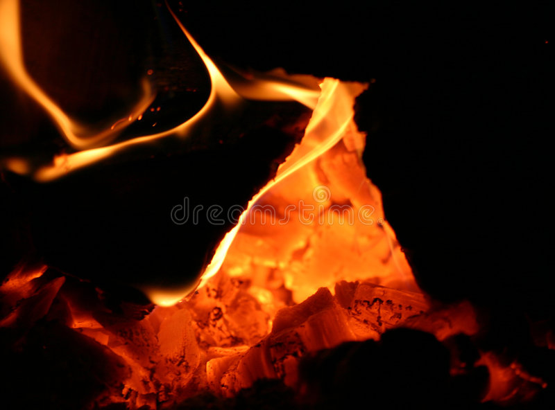 Incendie photos stock