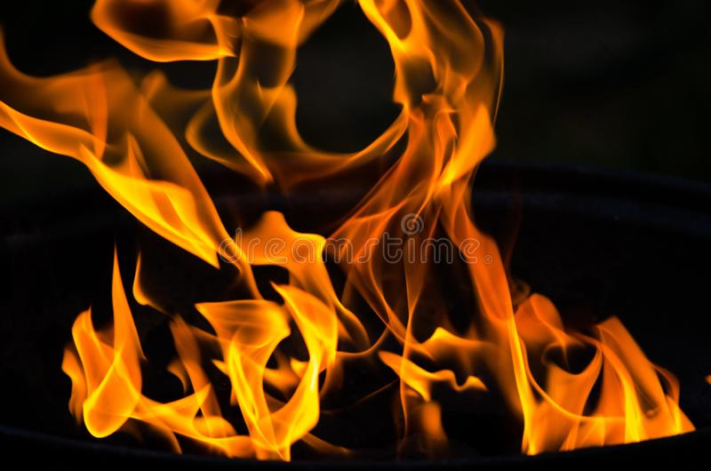 Incendie abstrait images stock