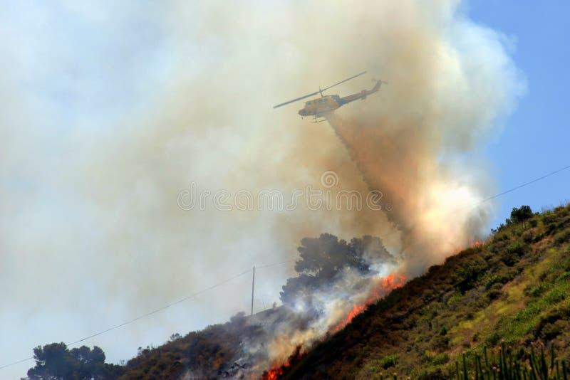 Incendie de Barnett photographie stock libre de droits