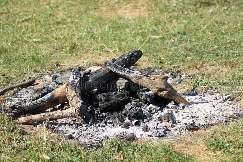 Incendie de foyer images libres de droits
