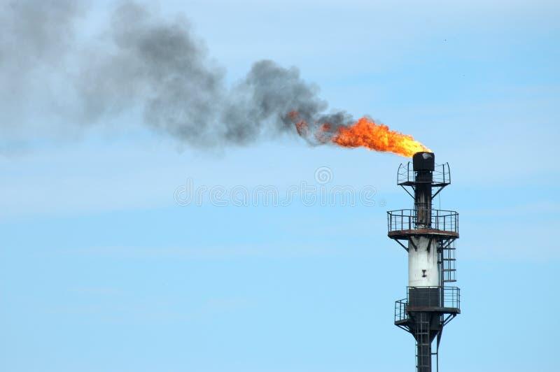 Incendie de pipe photographie stock libre de droits