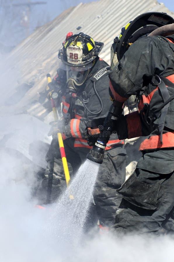 Incendie de Williamstown Vermontn image libre de droits