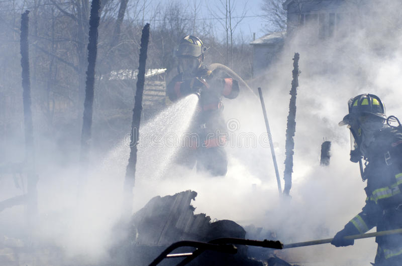 Incendie de Williamstown Vermontn image stock