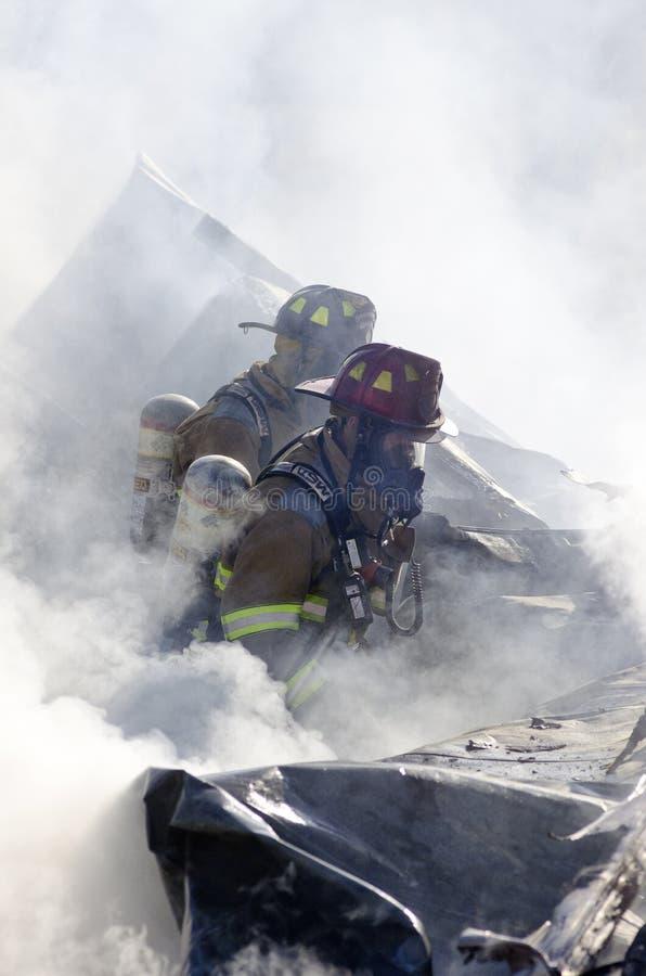 Incendie de Williamstown Vermontn photographie stock
