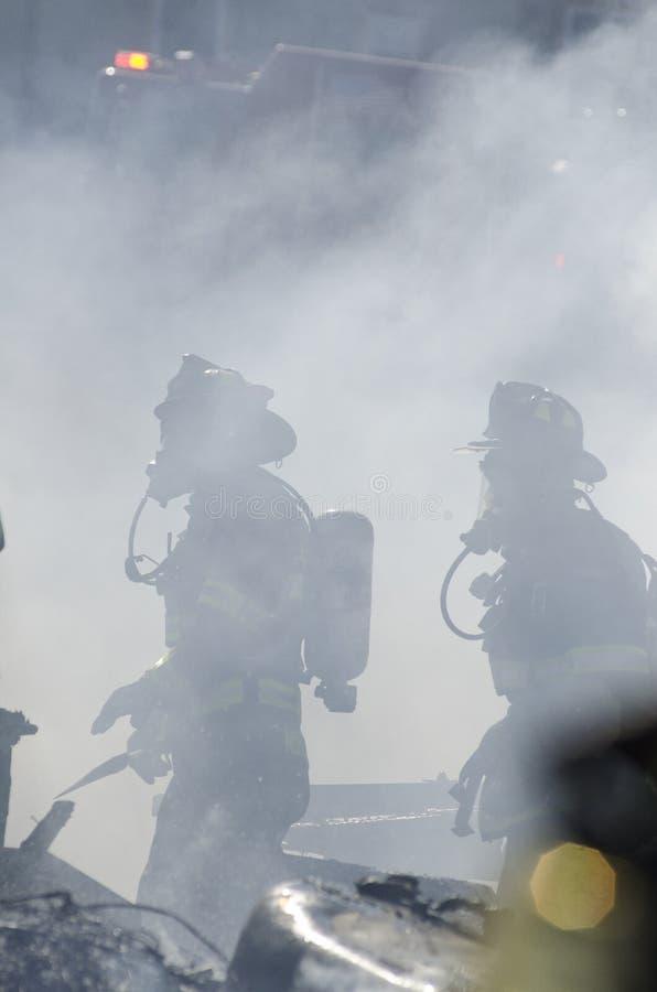 Incendie de Williamstown Vermontn photo libre de droits