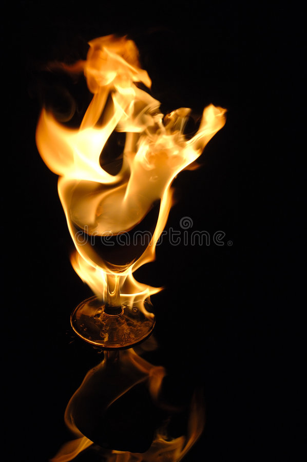 Incendie en glace photos stock
