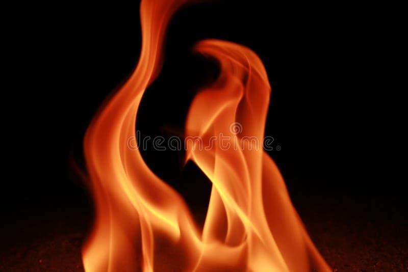 Incendie et flamme images libres de droits