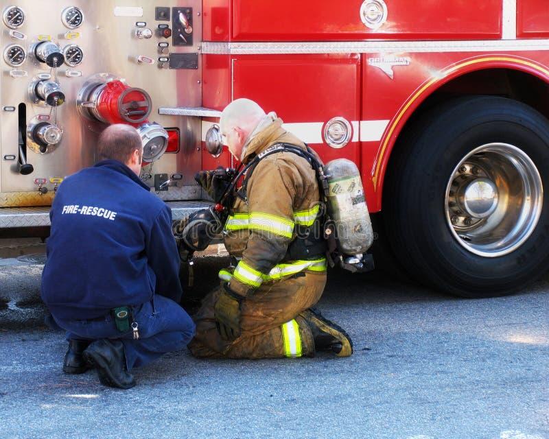 Incendie et sauvetage photos libres de droits
