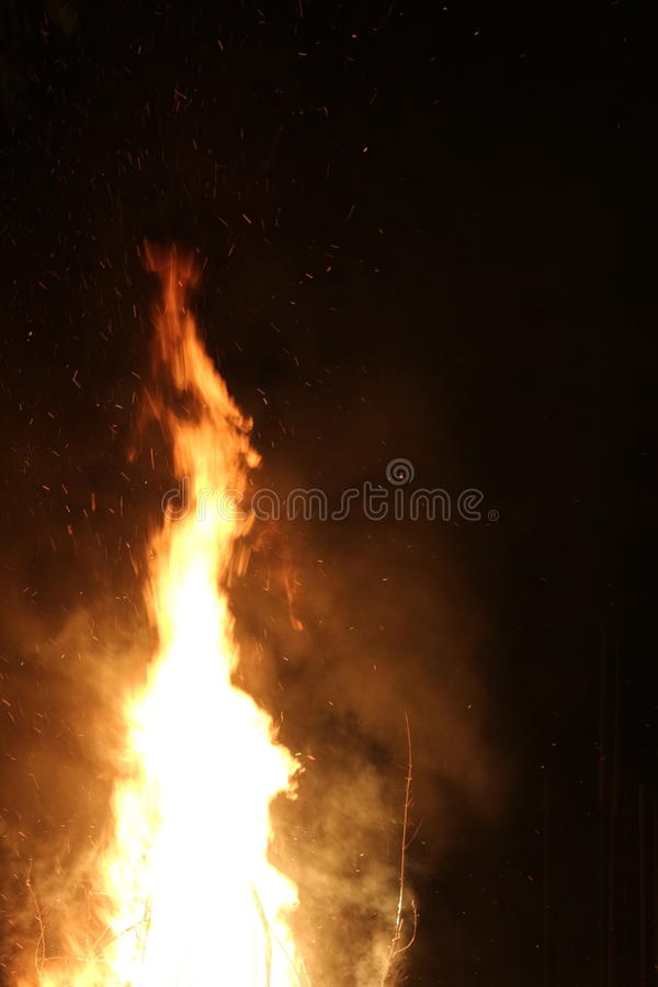Incendie flamboyant images stock