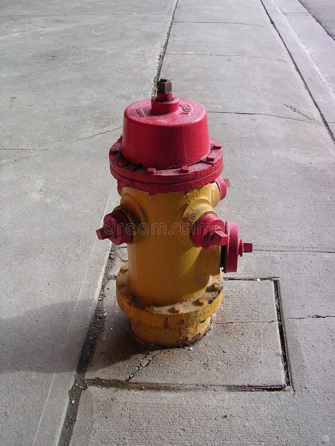 Incendie hydant image libre de droits