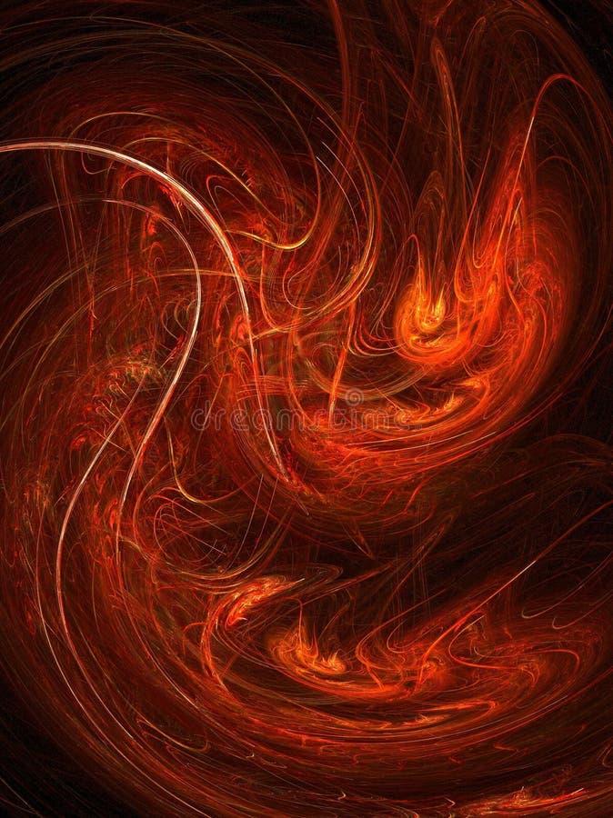 Incendie liquide illustration libre de droits