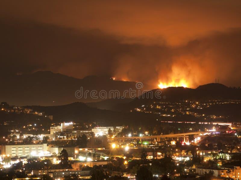 Incendies de Los Angeles photos libres de droits