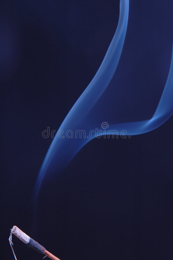 Download Incense stock image. Image of dynamic, blue, fragrant - 1710061