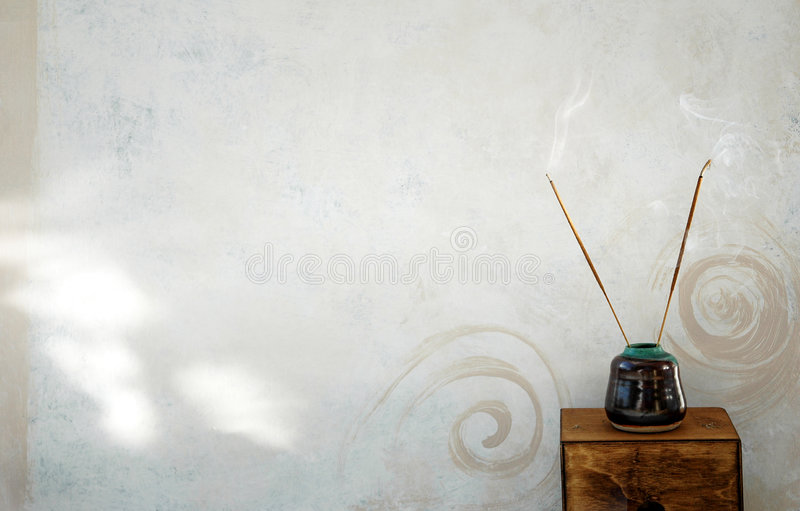 Incense 2 Background royalty free stock photos