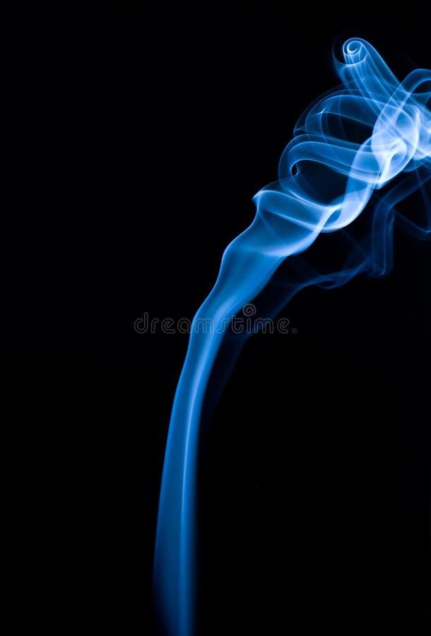 Incense on black