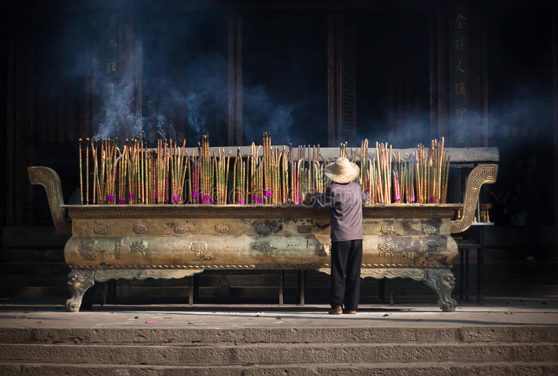 Incense Burner Royalty Free Stock Images