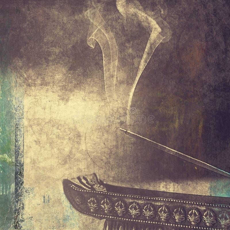 Incense Burning Art Photo royalty free stock images