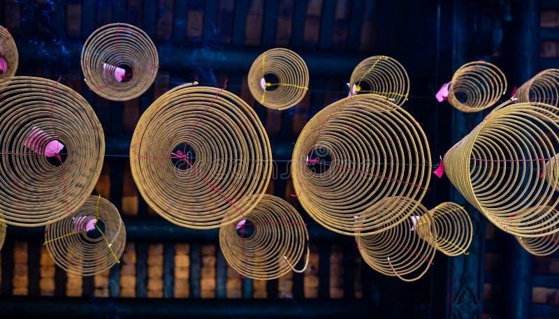 Incense Circle royalty free stock photos