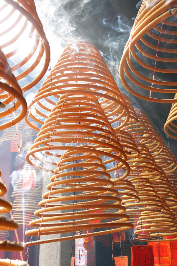 Download Incense Coils stock image. Image of temple, incense, damage - 30417375