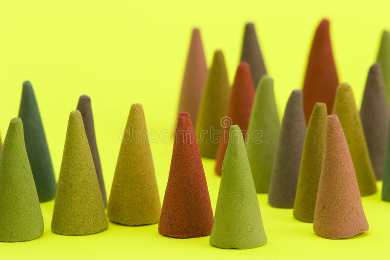 Download Incense cones stock image. Image of arrangement, aromatic - 1708893