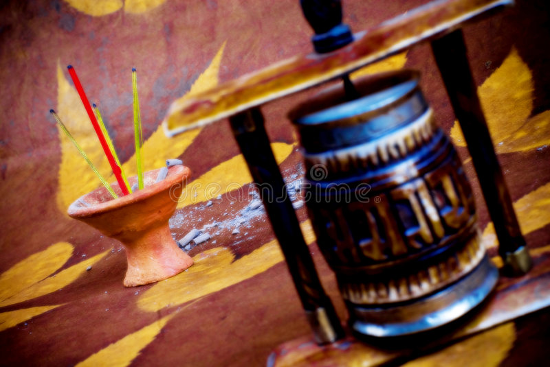 Download Incense and mandala stock photo. Image of motif, religious - 3675198