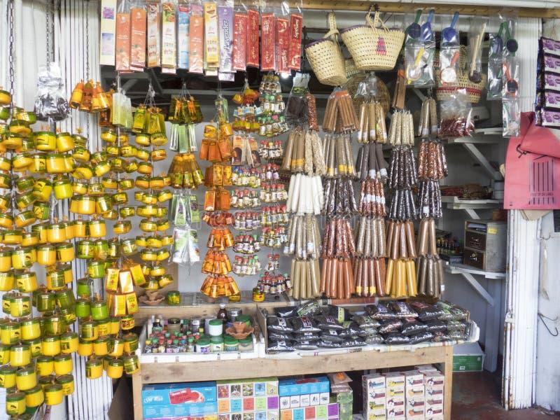 Incense shop, Sri Lanka royalty free stock images
