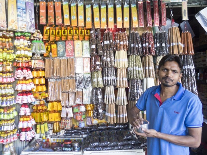 Incense shop, Sri Lanka stock photos