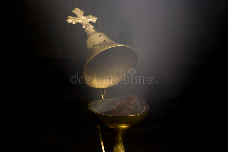 Incense Smoke stock photos