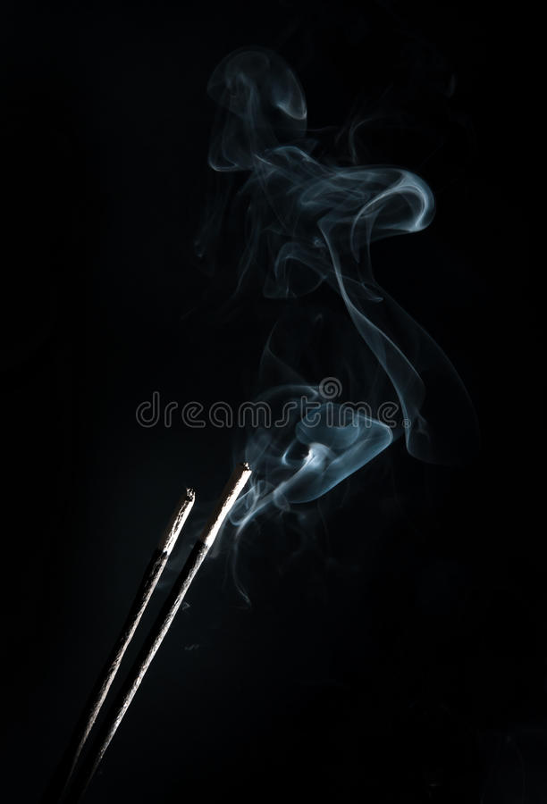 Download Incense with smoke stock photo. Image of motion, backdrop - 27384058