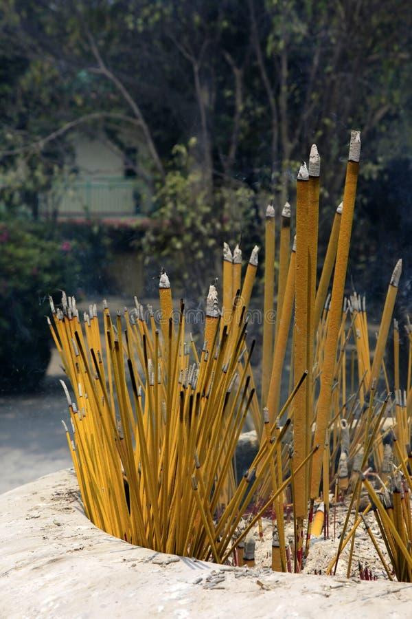 Download Incense smoke stock image. Image of gautama, smell, rite - 36566293