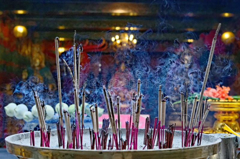 Download Incense sticks stock photo. Image of smoky, religion - 26566374