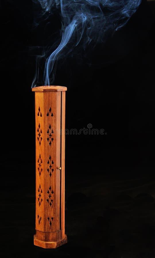Download Incense burner with smoke stock image. Image of burn - 28429943
