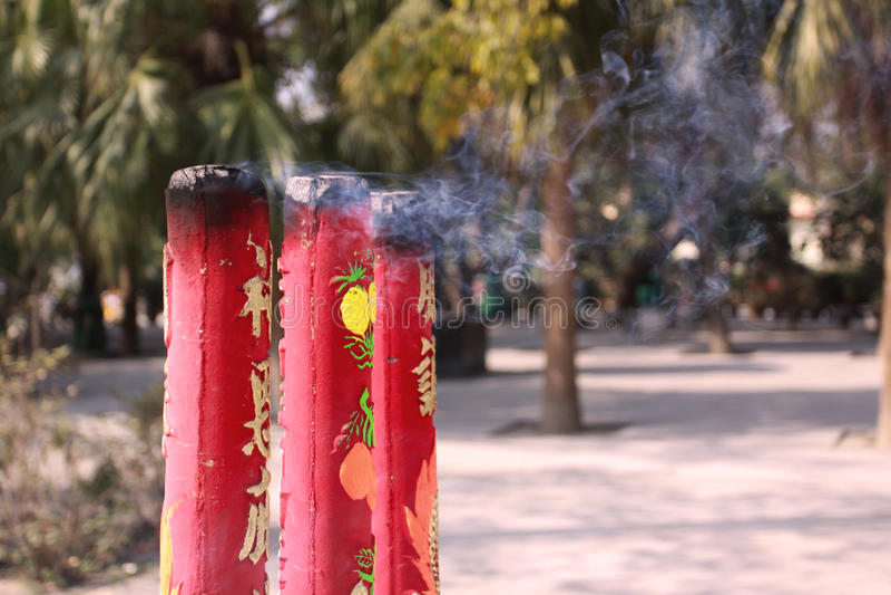 Incenso gigante a Lantau fotografia stock