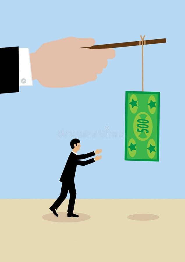 Incentivo del negocio stock de ilustración