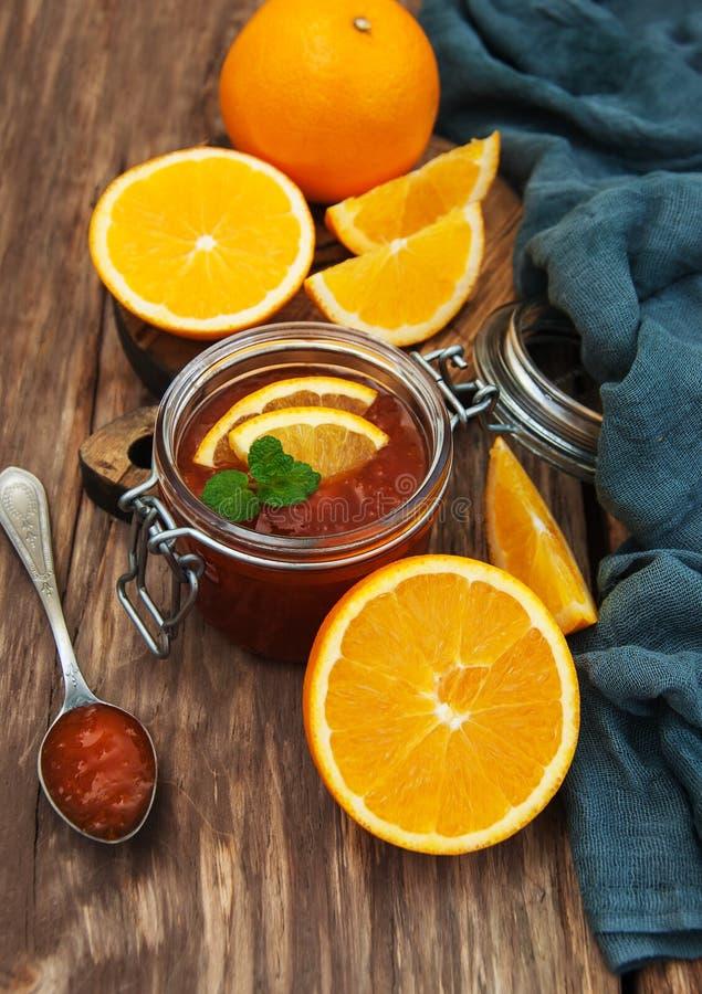 Inceppamento arancio delizioso fotografia stock