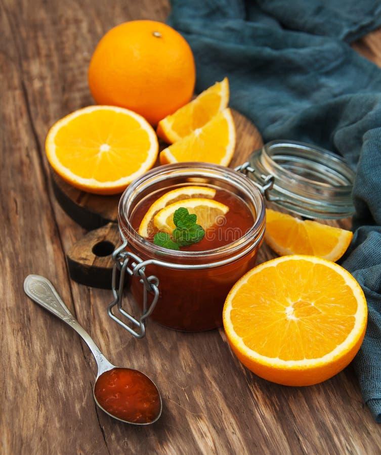 Inceppamento arancio delizioso immagine stock libera da diritti