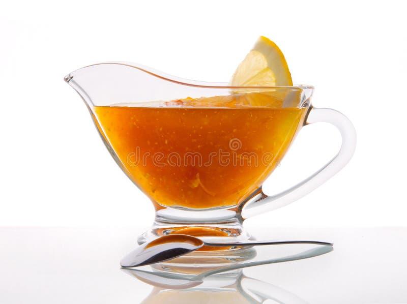 Inceppamento arancio delizioso immagine stock
