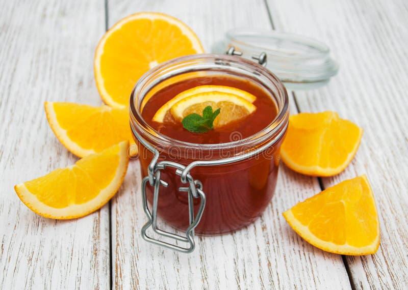 Inceppamento arancio delizioso immagini stock libere da diritti