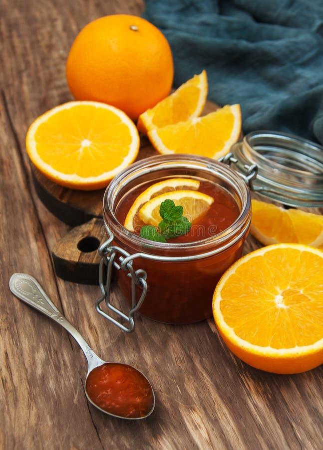 Inceppamento arancio delizioso immagini stock