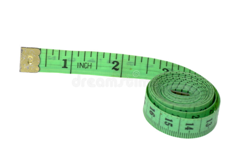 Inch tape-line royalty free stock image