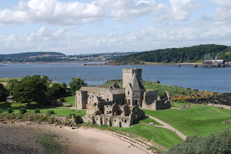 Inchcolm images stock