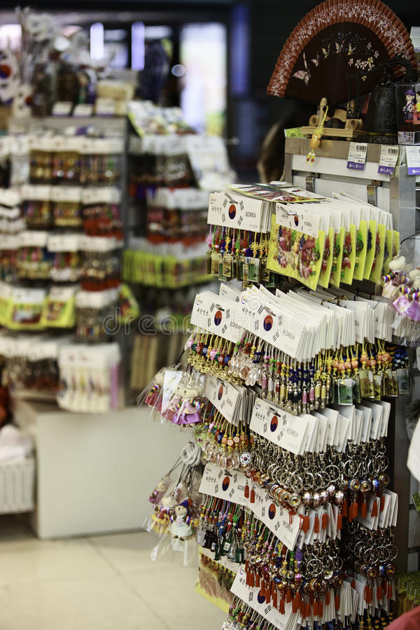 Download Incheon Airport Gift Shop editorial stock image. Image of chain - 33997199