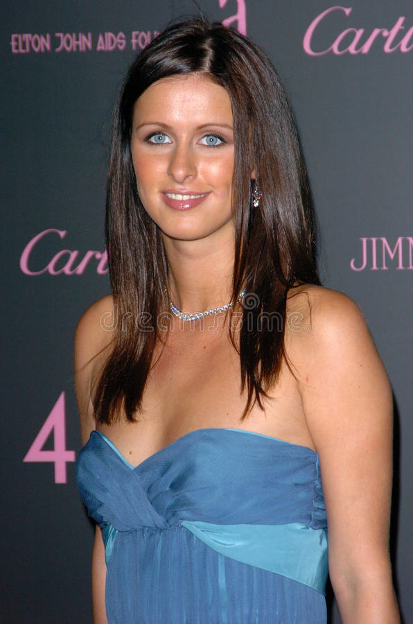 Download Nicky Hilton editorial stock image. Image of angeles - 30726394