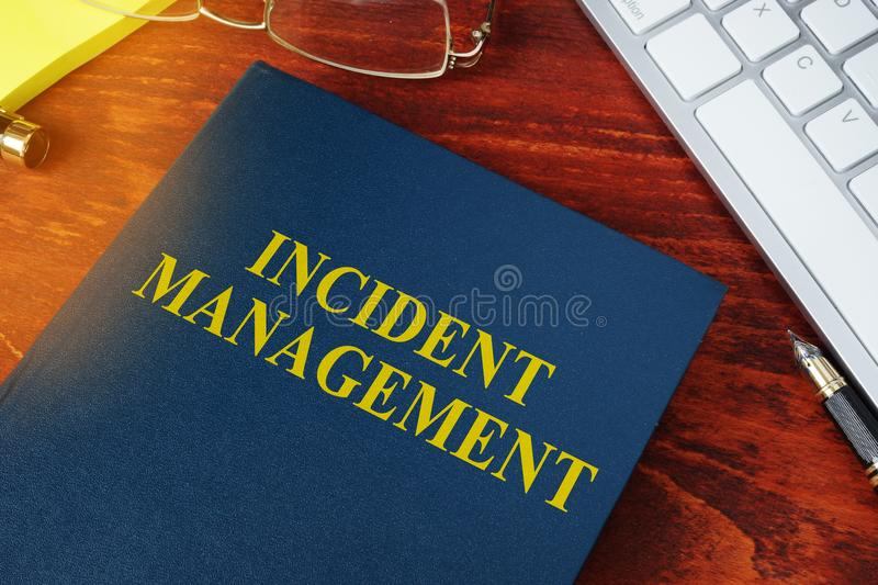 Incident Management concept. stock photos