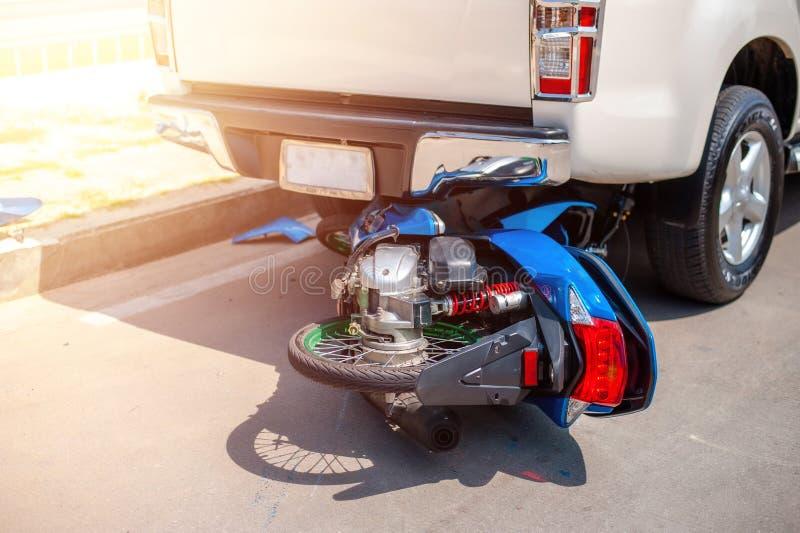 Incidente automobilistico e automobilistico fotografia stock