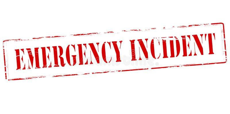 Incidente de la emergencia fotografía de archivo