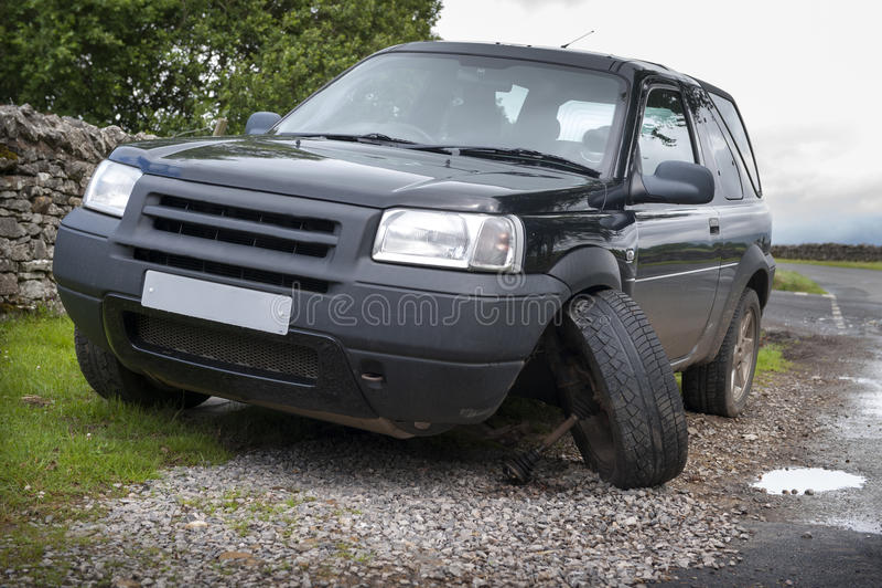 Download Incidente del veicolo immagine stock. Immagine di incidente - 56891385