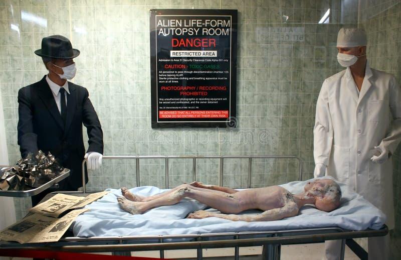 Incidente do UFO de Roswell foto de stock royalty free